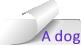 CurledTag-ADog